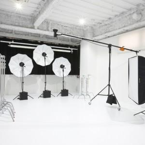 スタジオ撮影スペース