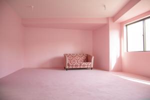 ピンクのスペース